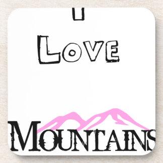 Porta Copos Eu amo montanhas