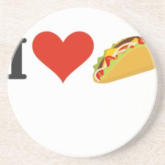 Porta-copos Eu amo o Tacos para amantes do Taco
