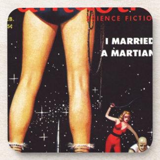 Porta Copos Eu casei um marciano
