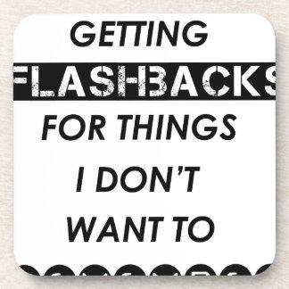 Porta-copos eu deio conseguir flashback para o i'do das coisas