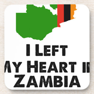 Porta Copos Eu deixei meu coração na Zâmbia