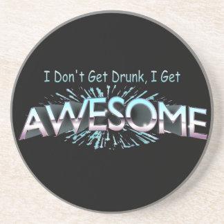 Porta-copos Eu não obtenho o bebado que eu obtenho