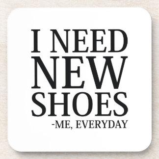 Porta-copos Eu preciso calçados novos
