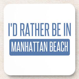 Porta-copos Eu preferencialmente estaria em Manhattan Beach
