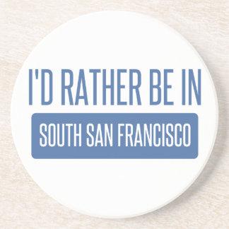 Porta-copos Eu preferencialmente estaria em San Francisco sul