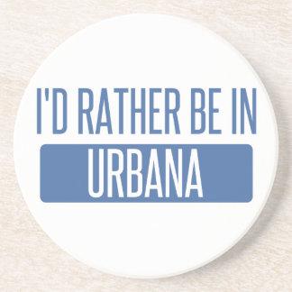 Porta-copos Eu preferencialmente estaria em Urbana