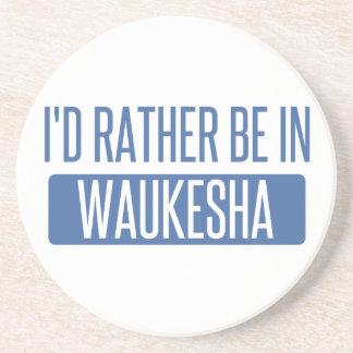 Porta-copos Eu preferencialmente estaria em Waukesha