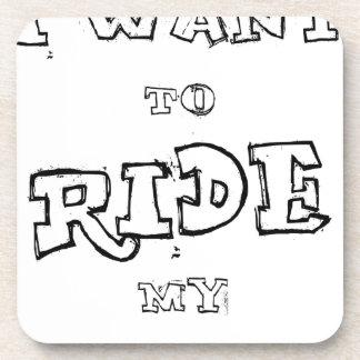Porta Copos Eu quero montar minha bicicleta