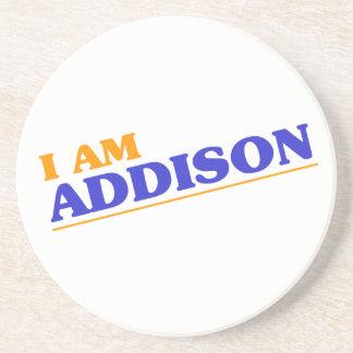 Porta-copos Eu sou Addison