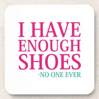 Porta Copos Eu tenho bastante calçados