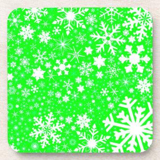 Porta-copos Explosão verde do Natal