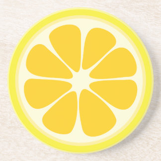 Porta-copos Fatia suculenta bonito da fruta tropical do limão