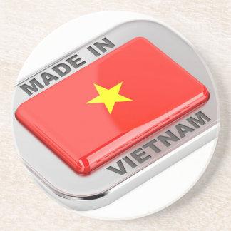 Porta-copos Feito no crachá brilhante de Vietnam