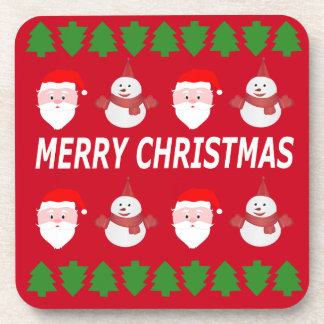 Porta Copos Feliz Natal