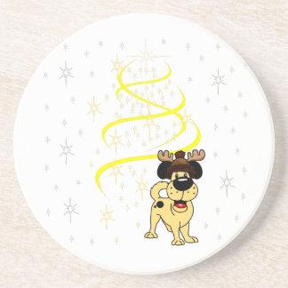 Porta-copos Filhotes de cachorro do Natal