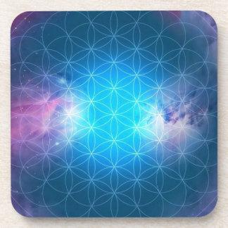 Porta Copos Flor cósmica da vida