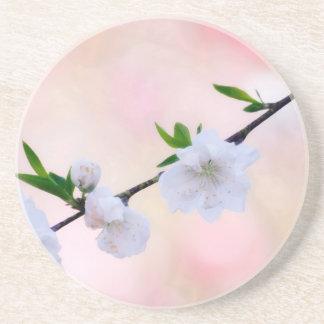 Porta-copos Flor do pêssego