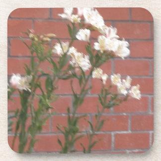 Porta Copos Flores no tijolo