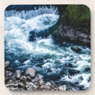Porta-copos fluxo do branco do rio
