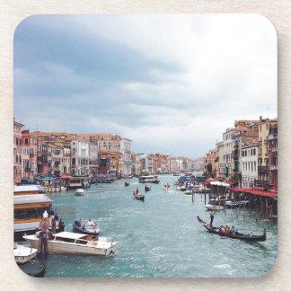 Porta Copos Foto do canal de Italia Veneza do vintage