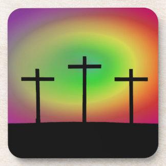Porta-copos Fulgor de três cruzes