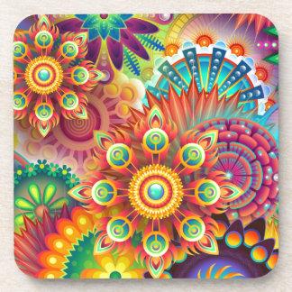 Porta-copos Fundo abstrato colorido novo