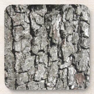 Porta-copos Fundo da textura do latido de árvore da pera