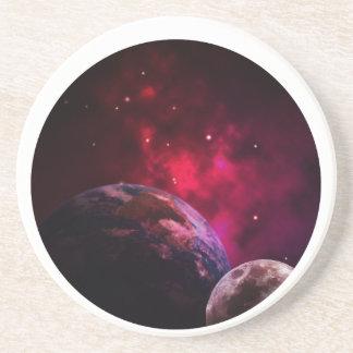 Porta-copos Galaxy Purple 1 - Gláxia roxa