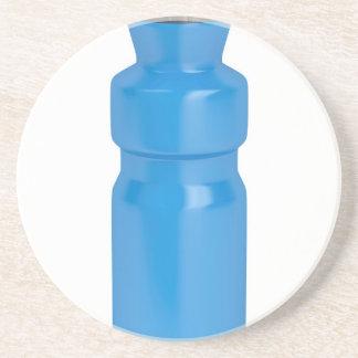Porta-copos Garrafa plástica azul
