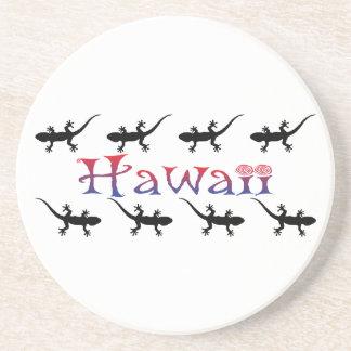 Porta-copos gecos do hawai