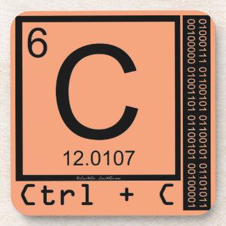Porta-copos Geek mim! Cópia de carbono