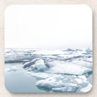 Porta Copos Geleiras de Islândia - branco
