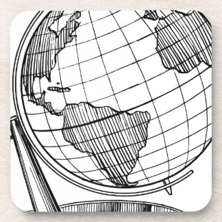 Porta-copos Globo do mundo