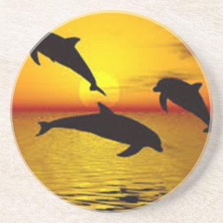 Porta-copos golfinho