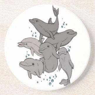 Porta-copos Golfinhos brincalhão