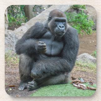 Porta-copos Gorila nas portas copos plásticas duras do jardim