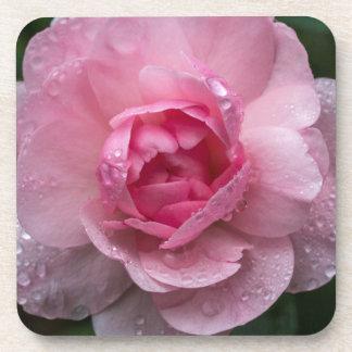 Porta-copos Gotas cor-de-rosa