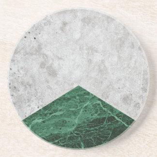 Porta-copos Granito concreto #412 do verde da seta