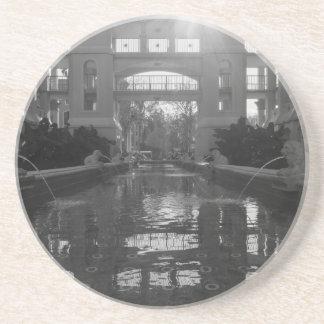 Porta-copos Grayscale do Sunburst de Coronado
