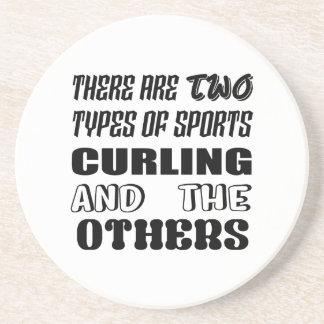 Porta-copos Há dois tipos de ondulação e de outro dos esportes