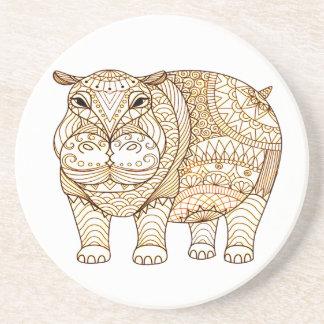 Porta-copos Hipopótamo