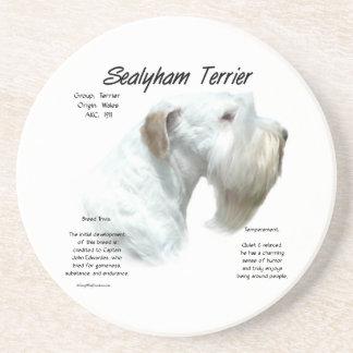 Porta-copos História de Sealyham Terrier