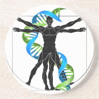 Porta-copos Homem do ADN Vitruvian