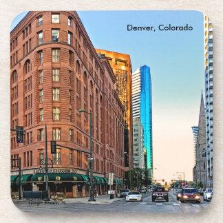 Porta Copos Hotel majestoso no por do sol, Denver do palácio