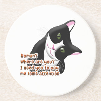 Porta-copos Humano? Onde está você? Gato