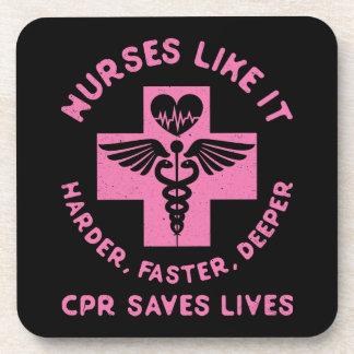 Porta Copos Humor da enfermeira - vidas das economias do CPR -
