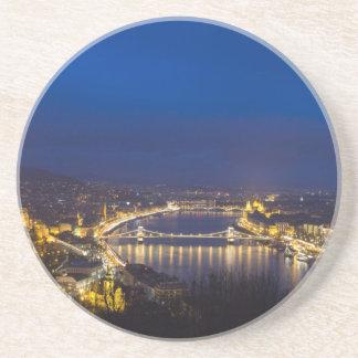 Porta-copos Hungria Budapest no panorama da noite