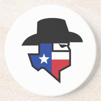 Porta-copos Ícone da bandeira de Texas do bandido