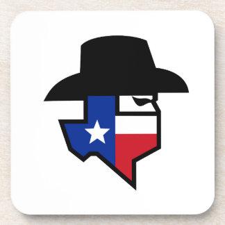 Porta Copos Ícone da bandeira de Texas do bandido