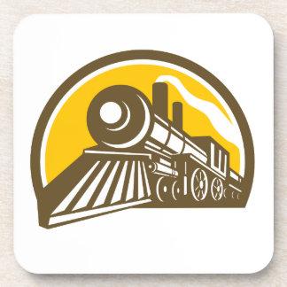 Porta Copos Ícone do trem da locomotiva de vapor
